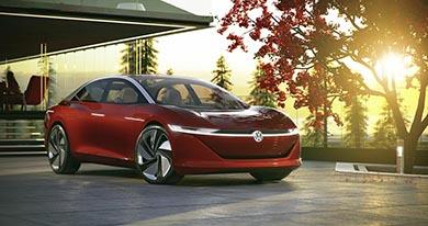 VW EV 自動運転 セダン ジュネーブショー