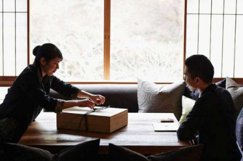 脱デジタル 旅行 夏 昼寝舟 旅館 星のや京都