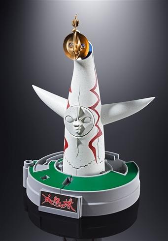 """「超合金 太陽の塔のロボJr.」発売! 胸部の顔を""""次元爆発ミサイル""""として発射可能"""