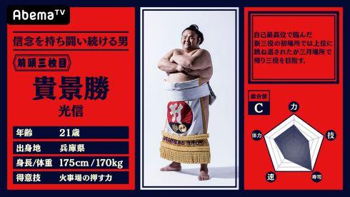 abemaTV 大相撲 中継 NHK