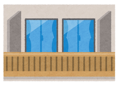 アパート、マンションのベランダの掃除方法