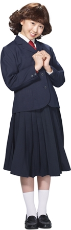 本田望結 聖子ちゃんカット 七変化 JK 制服