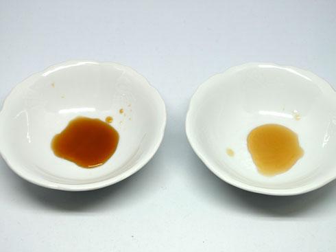 納豆のタレの色味調査