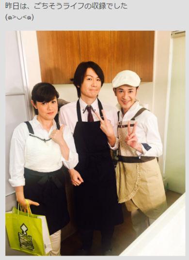 城咲仁 ホスト カリスマ 俳優 料理 チバテレビ ごちそうライフ