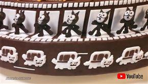 猫がくるくる動き出す ゾートロープ型ケーキがかわいい