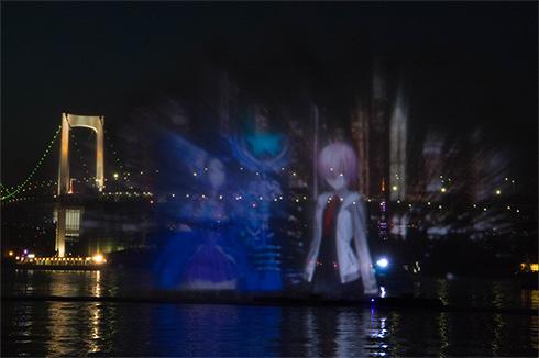FGO 葛飾北斎 水を彩る江戸祭 ウォータープロジェクションマッピング