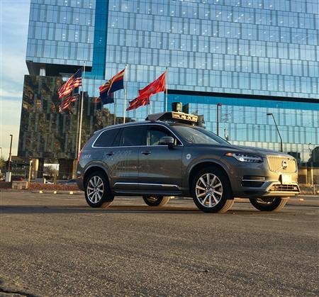 自動運転車で初の死亡事故 Uber、米とカナダでのテスト走行を中止