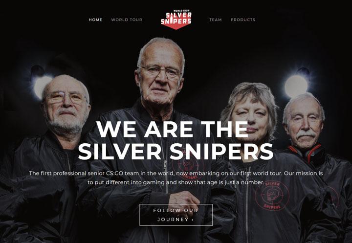 平均年齢73歳のeスポチーム「シルバースナイパーズ」がかっこいい 腕前は未熟ながら古参兵の風格