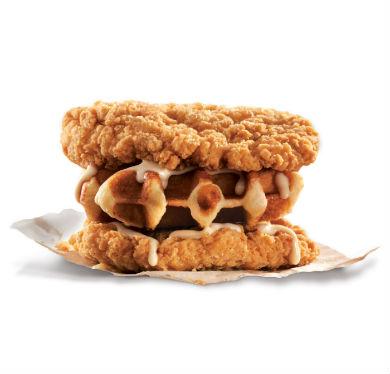 チキン ワッフル KFC