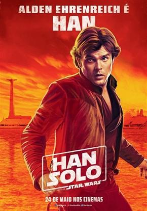 スター・ウォーズの「ハン・ソロ」スピンオフ、ポスターから銃が削除される? ブラジル版ポスターが海外で物議