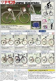 1975年のナショナル自転車総合カタログ P3