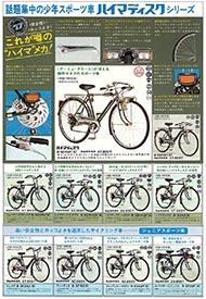 1975年のナショナル自転車総合カタログ P4