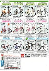 1976年のナショナル自転車総合カタログ P6