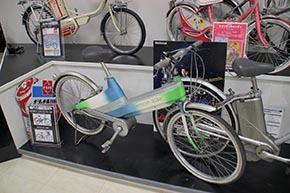 電動アシスト自転車のプロトタイプ(1994年)