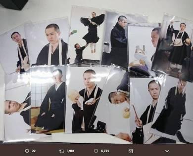 杉田智 ブロマイド 僧侶 和尚 Wonderful World 作品