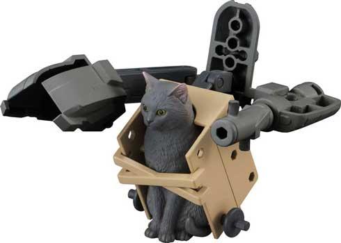 猫にメカを装備する玩具「ねこぶ...