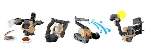 ねこぶそう 猫 武装 バンダイ エイプリルフール ホビー