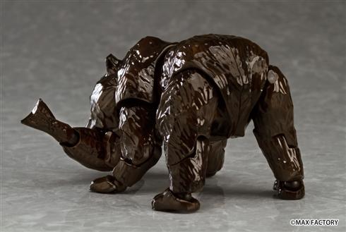 「figma ヒグマ」本当に予約受付開始! 木彫りの熊がアクションフィギュアに