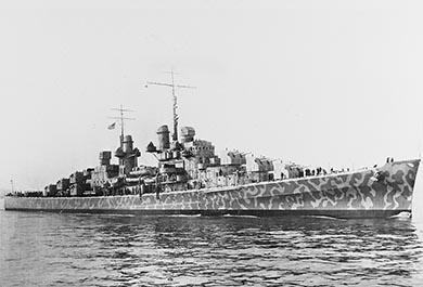 ポール・アレン Petrel ジュノー 軍艦 発見 巡洋艦