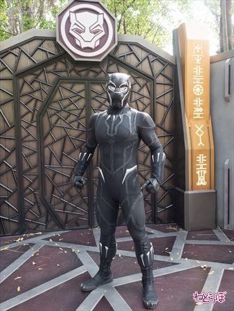 香港ディズニーランド ブラックパンサー