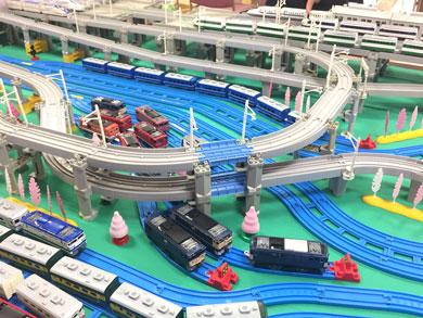 機関車とレール