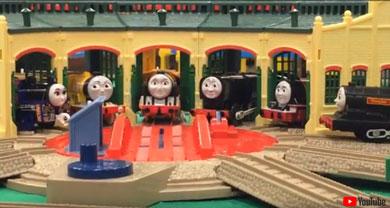 トーマスの車両基地