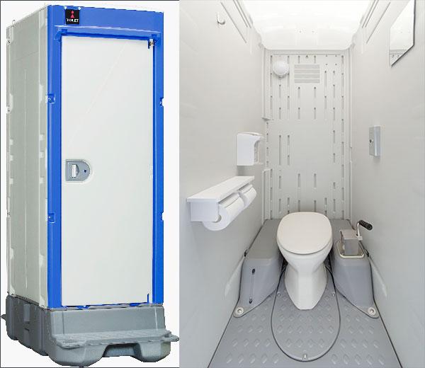 """仮設トイレが独自の進化を遂げていた! 高級VIP用にIoT機能、知られざる""""密室""""の歴史"""