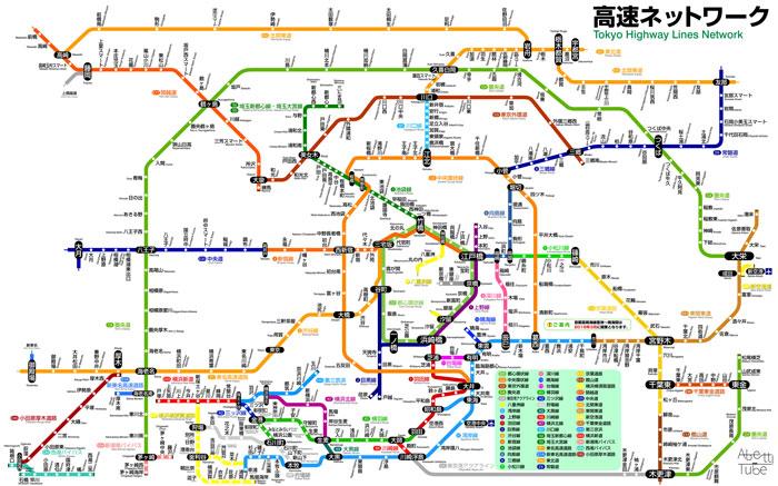 東京 神奈川 路線 図 見やすい