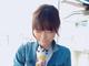 """ソフトクリームから脚がニョキッ 釈由美子、諏訪湖で出会った""""衝撃すぎるバッタソフト""""を実食"""