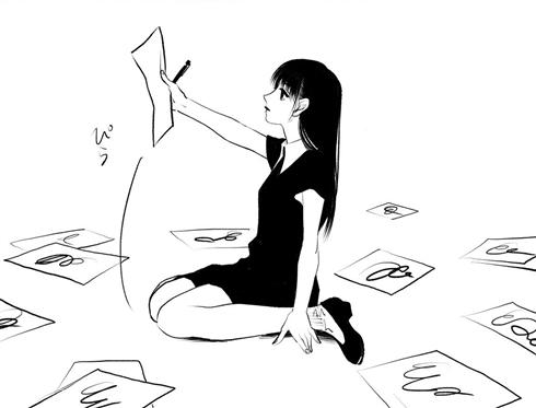 最近、創作が息苦しくなってませんか? 一心不乱に描き続ける少女の漫画に勇気づけられる