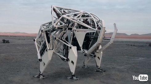ロボット Exo-Bionics 4つ脚