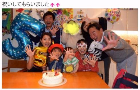 東尾理子 出産 すみれ 兄弟 姉妹 つむぎ 名前 高齢出産