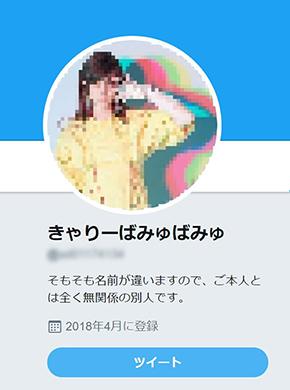 Twitter なりすまし