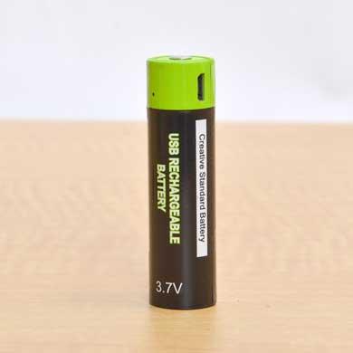 サンコー USB充電 乾電池