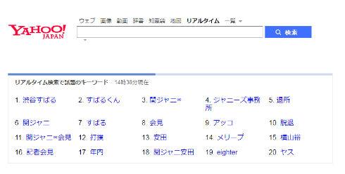 関ジャニ∞ 渋谷すばる ジャニーズ メンバーカラー KAT-TUN 赤西仁 NEWS 山下智久