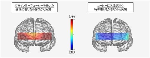 コーヒーの香りが脳を活性化