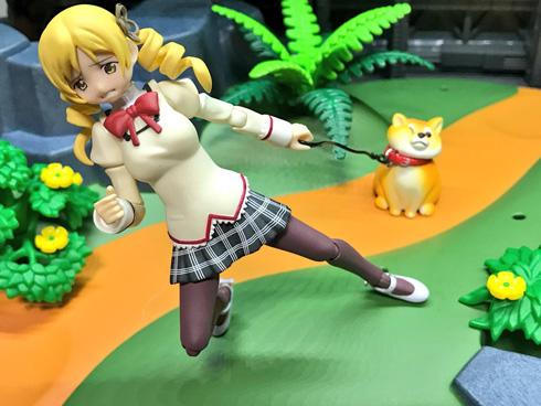 拒否犬ストラップ 遊んでみた フィギュア ヨシヒコ