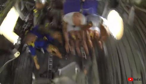 キーーン……ドガァッ!!! NASAがダミー人形を使った事故実験映像を公開