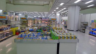 ショッピングゾーン