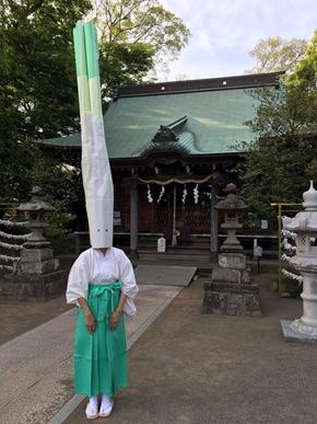 2011年6月9日_なっが! パンダ宮司で話題の有鹿神社、今度は禰宜(ねぎ)が ...
