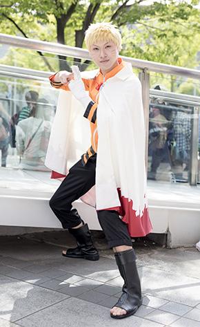 ニコニコ超会議 コスプレイヤー 幕張メッセ ニコニコ動画 アニメ 漫画 NARUTO ナルト うずまきナルト