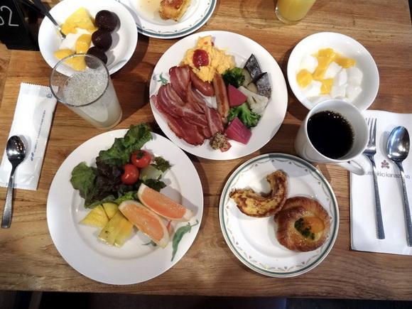 朝食のおいしいホテル ホテル日航金沢