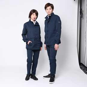 WORK WEAR SUIT スーツ デザイン 作業着 女性版