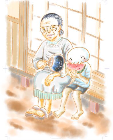 祖母の髪を切った日メイン画像