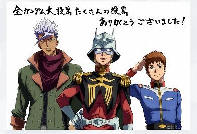 森口博子 全ガンダム大投票 1位 結果 水の星に愛をこめて ETERNAL WIND ガンダムソング