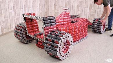 F1 コカ・コーラ 空き缶