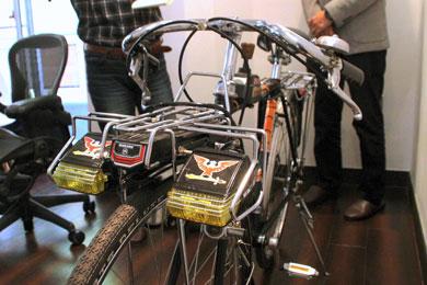 スーパーカー自転車実車 フロント側