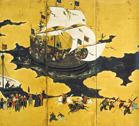 ペリー以前にも黒船は日本に来ていた