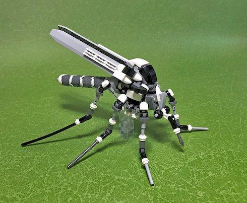 レゴ作品「蚊」