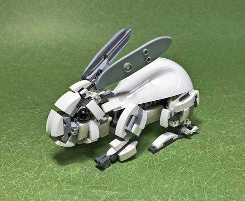 レゴ作品「ウサギ」